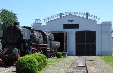 Zabytkowa parowozownia z 1929 roku.
