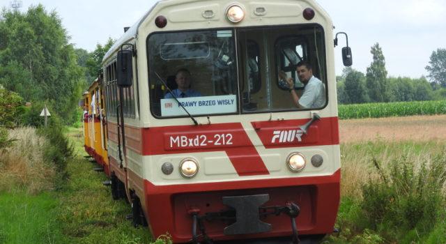Żuławska Kolej Dojazdowa - w oczekiwaniu na kolejny kurs.