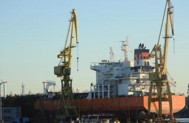 Rocznie w Gdańskiej Stoczni Remontowej naprawia się około dwustu jednostek pływających