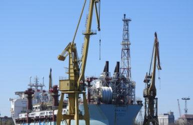 Tankowiec Aoka Mizu czeka na remont