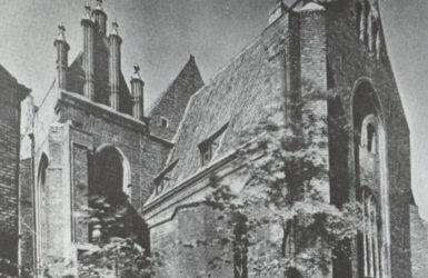 Elewacja wschodnia, stan z 1939 roku.