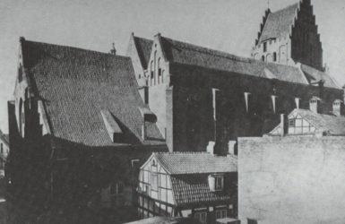 Elewacja boczna od strony północnej, stan z 1939 roku.