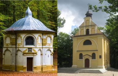Kalwaryjskie kaplice.