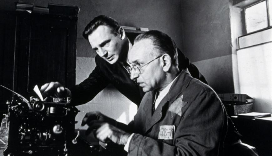Kadr z filmu Lista Schindlera. Źródło: Muzeum II Wojny Światowej.