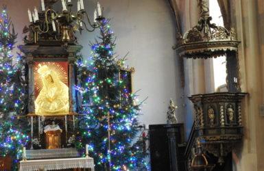 Wnętrze kaplicy św. Anny.