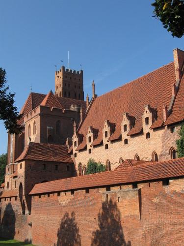 Zamek w Malborku - arcydzieło gotyckiej architektury obronnej