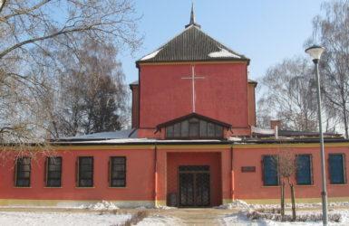 Kościół św. Anny i Joachima przed remontem...
