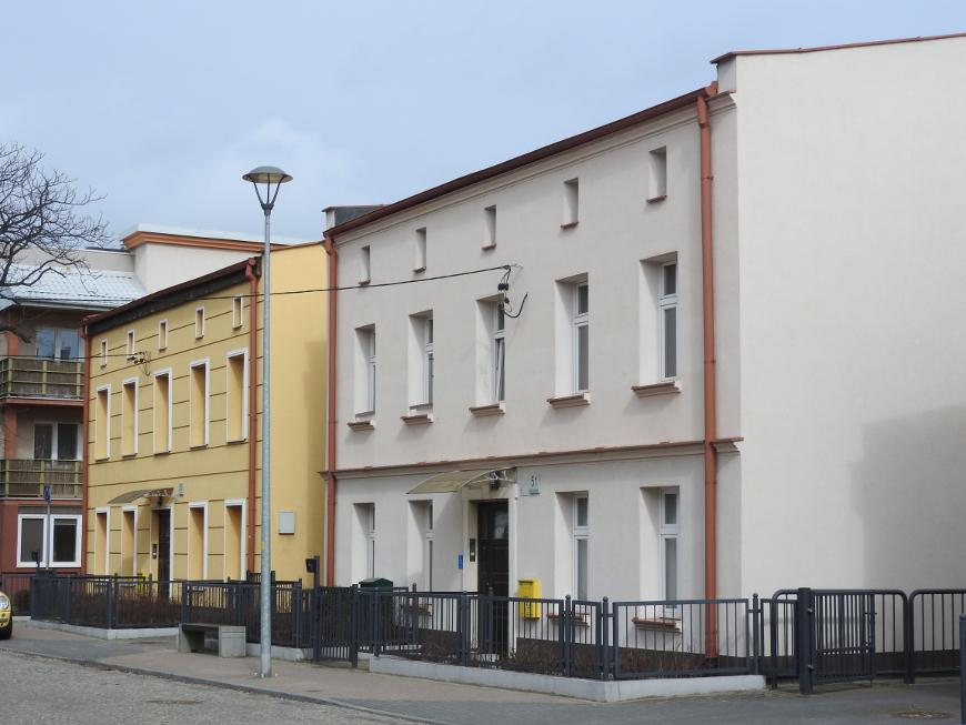 Zabudowa ulicy Starowiejskiej.