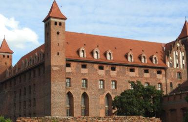 Pokrzyżacki zamek - najbardziej znany gniewski zabytek.