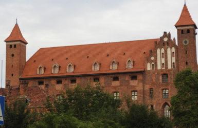 Gniewski zamek odgrywał wielką rolę w obronności państwa Zakonu Krzyżackiego.