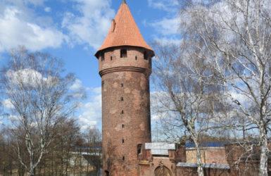 Baszta Maślankowa broniła dostępu do zamku od strony północnej.