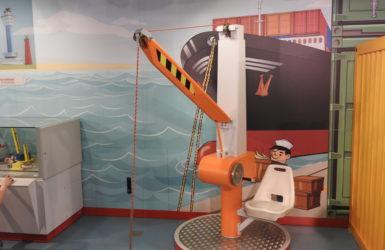 Portowa część wystawy.