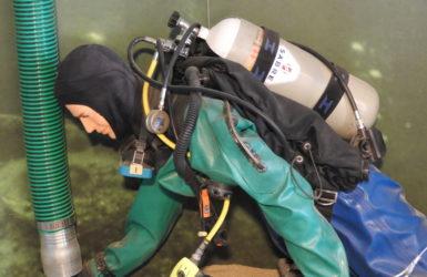 Wystawa opowiada m.in. o archeologii podwodnej.