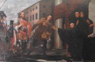 Carl Borromäus Ruthart - Święty Benedykt rozpoznaje Totylę