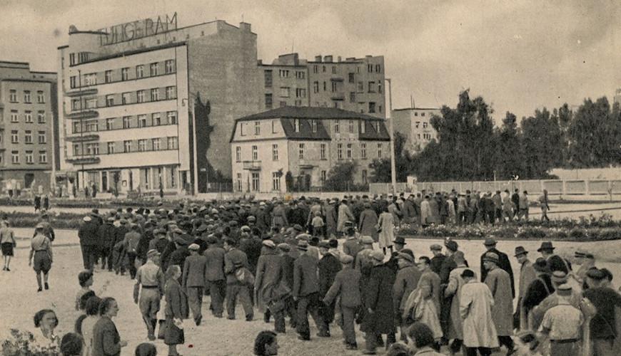 Początek okupacji Gdyni. Źródło: Muzeum Miasta Gdyni.