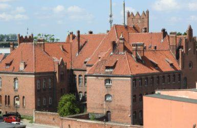 Widok z gniewskiego zamku.